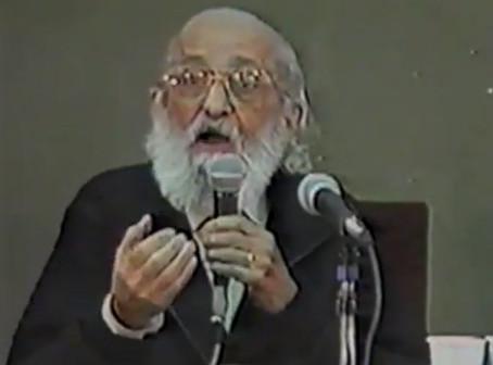 Paulo Freire: Conferencia Buenos Aires – 1992 – (Tercera Parte)